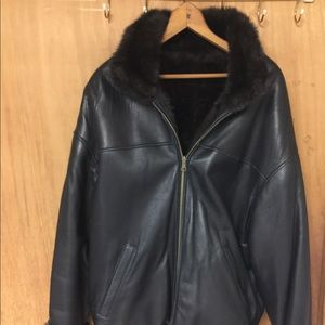 Vintage Wilson's Leather Reversible Coat